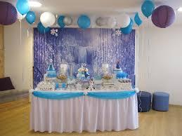 interior design frozen birthday party theme decorations