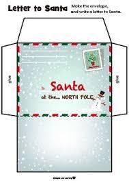 19 beautiful letter template envelope images complete letter santa. Santa Envelope Worksheets Teaching Resources Tpt