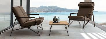 talenti architectural exterior lounge furniture designed by ramón esteve modern retro garden furniture contract