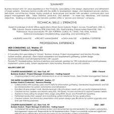 Sample Senior Business Analyst Resume Australia Valid Network ...