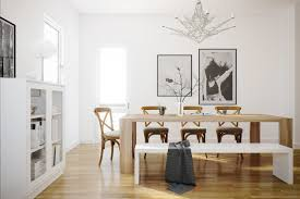 White Bench For Kitchen Table 20 Dining Rooms Visualized