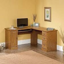 corner wood computer desk with l shape shaped wood desks home
