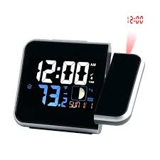 bedroom clocks simple alarm clock rural style alarm clock quietly simple bedside calendar electronic watch bedroom living room digital projection luminous