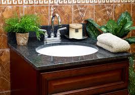 Bathroom Vanity Granite Lesscare Bathroom Vanity Tops Granite Tops Blue Butterfly