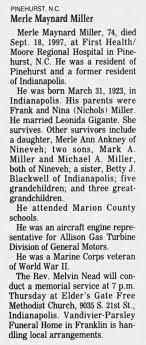 Merle Maynard Miller - Newspapers.com