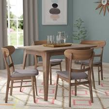 yolanda 5 piece wood dining set