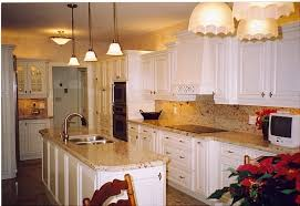 gorgeous white kitchen cabinets with granite fancy remodel