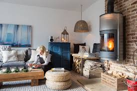 english home furniture. Designer Kay Prestney And Her Family Are Set To Celebrate The Festive Season In Their Cozy Country Home. Bare Branches Garlands Of Evergreen Connect English Home Furniture
