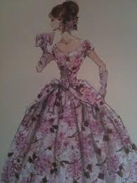 Ravishing In Rouge デザイン画 バイオレットバービー Violette Barbie