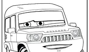 Lightening Mcqueen Coloring Page Cars 2 Printable Coloring Pages