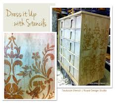 stenciling furniture ideas. Modern Painted Furniture Stencil Idea Stenciling Ideas O