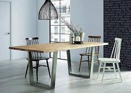 Table Ovale En Verre Avec Pied Central Belle Table Ronde Cuisine
