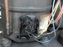 melted compressor wires doityourself com community forums ac compressor wiring diagram using a meter that measures millions of ohms measure each terminal to the copper pipe connected to the compressor (should read open infinity), then measure