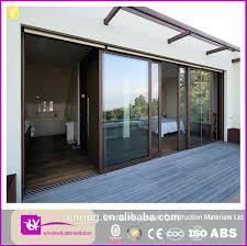 Horizontal Sliding Garage Doors Large Glass Aluminum Sliding Window
