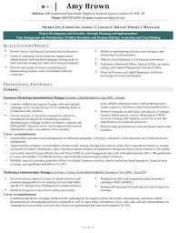 Communications Manager Resume Communications Manager Resume ...