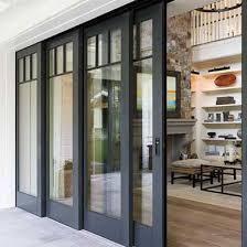 contemporary sliding glass patio doors. architect series multi-slide patio door | pella. metal doorssliding glass contemporary sliding doors
