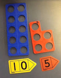 Image result for numicon and arrow cards
