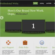 professional webtemplate professional web2 template free website templates in css