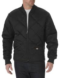 Men's Quilted Jacket | Diamon, Nylon | Dickies & Diamond Quilted Nylon Jacket Adamdwight.com