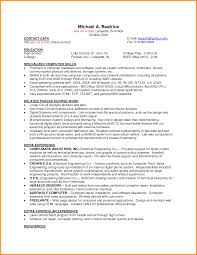 Job Resume For Students Resume For Part Time Job High School Student Elegant Examples 14