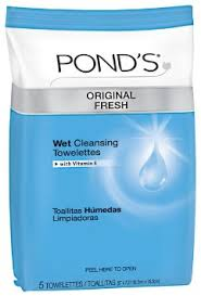 Image result for pond's wet cleansing towelettes