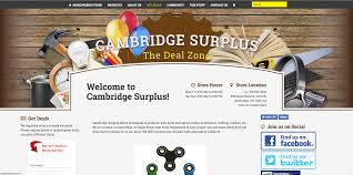 Kitchener Surplus Furniture Website Design Development For Local Small Businesses Alex