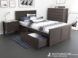 Modern Bedroom Furniture Melbourne Dandenong King Single Bed Storage Kids Beds B2c Furniture