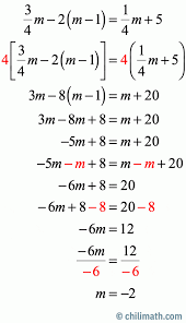 multi step equations practice problems