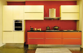 Orange And White Kitchen Kitchen Cabinets Colors Latest Kitchen Elegant Kitchen Colours