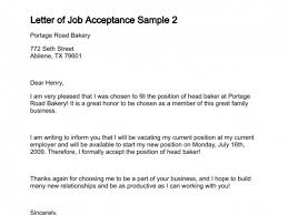 letter of job acceptance job acceptance letter match your skills to the company or job you