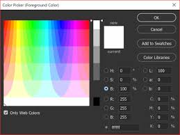 Rgb color space or rgb color system, constructs all the colors from the combination of the red, green and blue colors. Photoshop Tip My Photoshop Color Picker Looks Strange How Do I Fix It Photoshop For Beginners