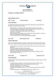 parts manager resume examples resume examples for a parts of a resume