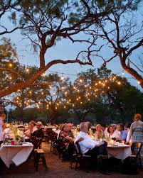 stairs light restaurant meal home lighting decoration. Outdoor Wedding Lighting Ideas From Real Celebrations | Martha Stewart Weddings Stairs Light Restaurant Meal Home Decoration T