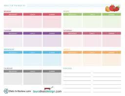 Weekly Meal Plan Worksheet Free Printable Weekly Meal Plan Worksheet Meal Planner