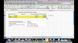 excel checkbook automated excel checkbook register new balance youtube