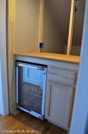 Customized DIY Beverage Bar Diy Mini Fridge Cabinet C75