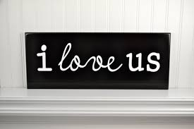 I Love Us Quotes Simple Items Similar To I Love Us Wood Love Quote Sign Carved Wooden Wall