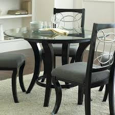 dining tables 42 glass dining table sets for round with fabric chairs inch large
