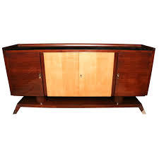 art moderne furniture. french art deco moderne palisander sideboard furniture
