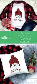 What you'll find on this page free svg cutting files for christmas gifts and crafts how to download these free christmas graphics… Free Christmas Story Svg 16 Christmas Cut Files