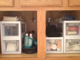 Bathroom Cabinet Organizer Bathroom Under Cabinet Organizers