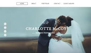 Photography Website Templates Amazing Photography Website Templates Wix