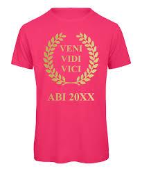 Veni Vidi Vici ABI T-Shirts für Jungs
