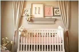calm decorating ideas for baby girl nursery