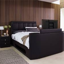tv hideaway furniture. Chicago-faux-leather-TV-bed-from-Furniture-Village- Tv Hideaway Furniture N