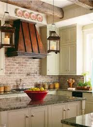 brick backsplash ideas a charming rustic touch in the interior modern kitchen