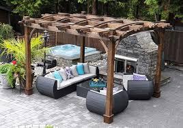 arched pergola kits 10x12 outdoor
