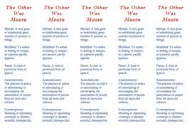 The Other Wes Moore Vocabulary Worksheets Teachers Pay