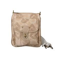 Coach Fashion Turnlock Signature Small Apricot Crossbody Bags EPB