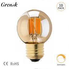 Mini Globe Lights Us 27 54 43 Off Grensk Edison G40 Led Bulb Dimmable 3w Led Filament Mini Globe Light Bulbs Replacement For Outdoor String Lights 2200k E27 220v In
